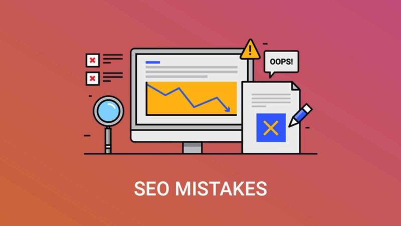 SEO Mistakes That Are Ruining Your Website